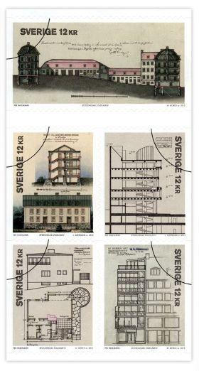 frimarke-varldsminne-posten-stockholms-stadsritningar