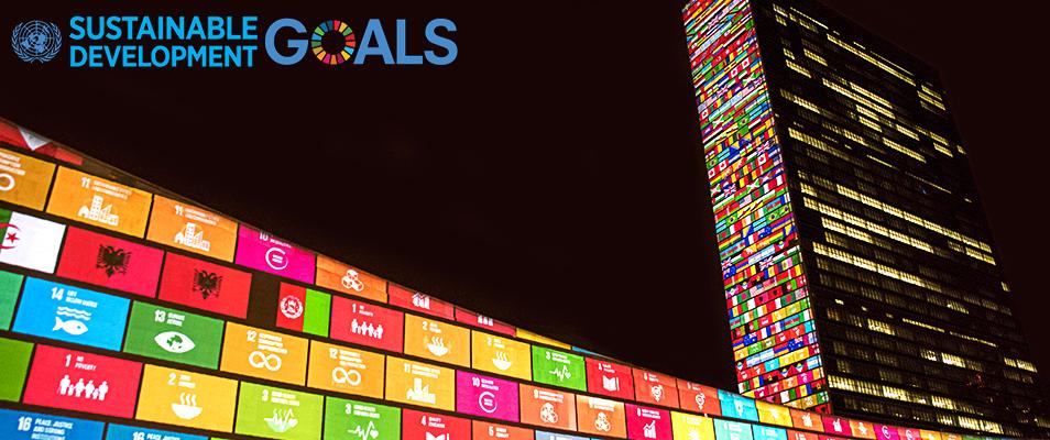 Bilden föreställer målen för Agenda 2030