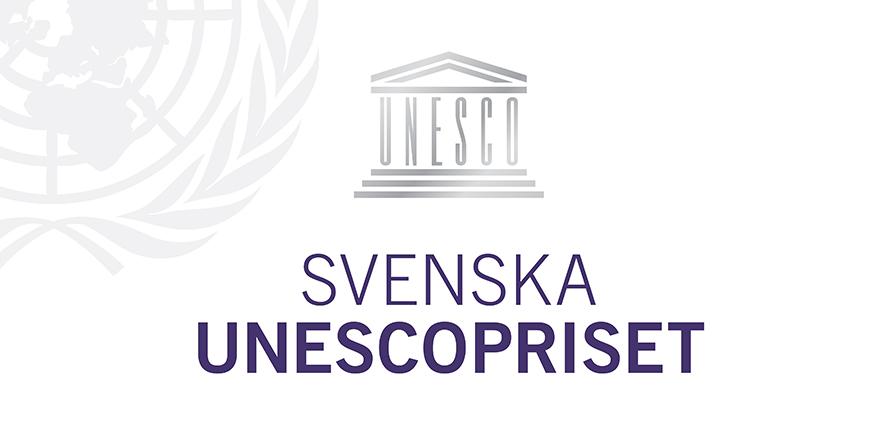 Logo Svenska Unescopriset Twitter