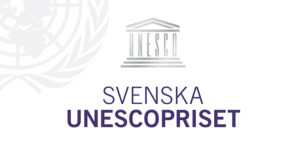 Svenska Unescoprisets logo