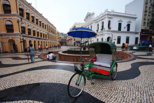 Torg i Macau