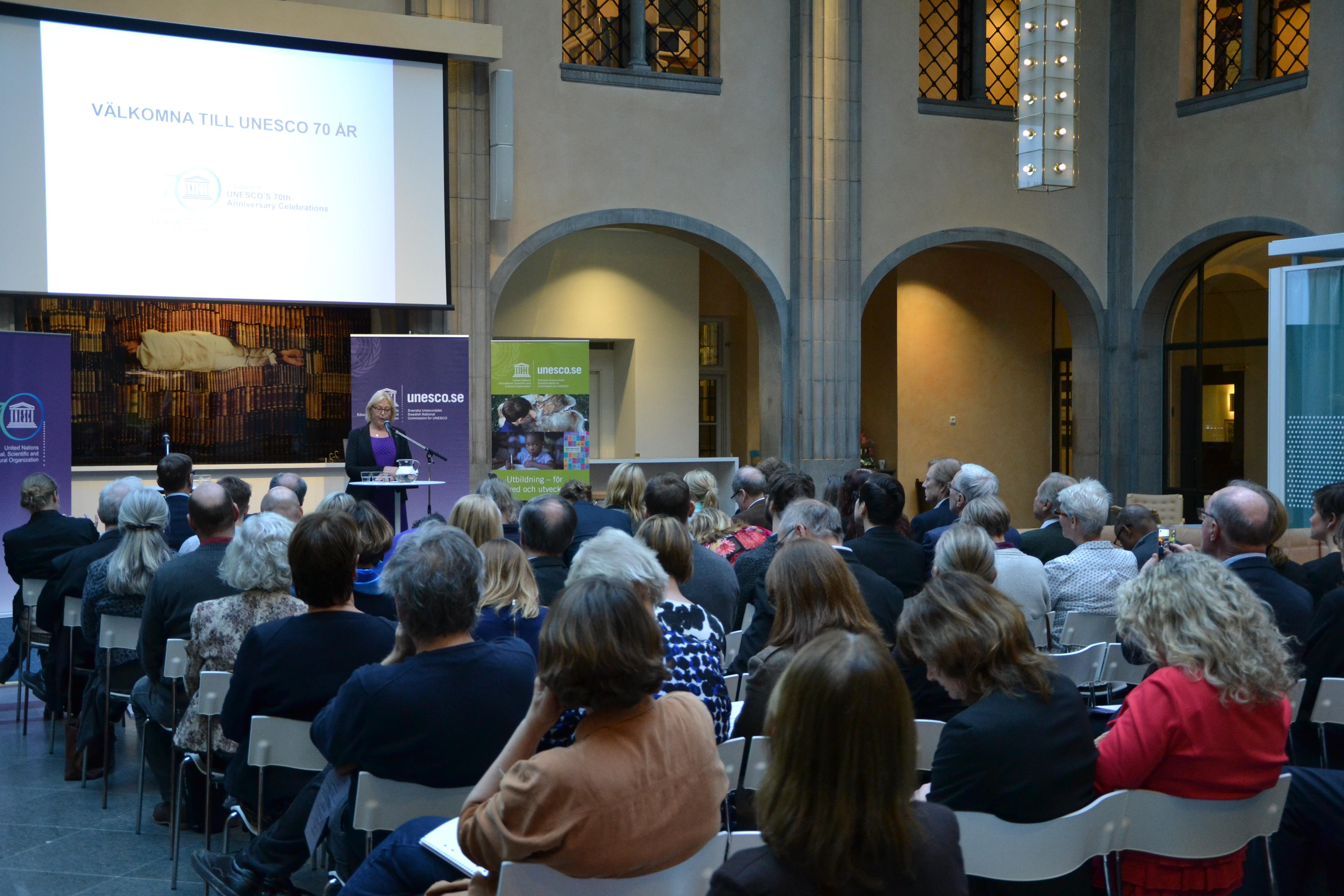 födelsedagstal 70 år Unesco 70 år! « Svenska Unescorådet födelsedagstal 70 år